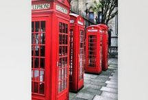 """Ring, Ring!"" London calling! / by Donna Gantt"