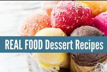 ❋ Real Food Desserts ❋ / REAL FOOD Dessert Recipes, made with real ingredients! Not something from a box. All of the recipes from my blog: realfoodrn.com #realfood