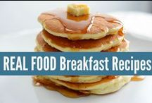 ☼ Real Food Breakfasts ☼ / REAL FOOD Breakfast Recipes, made with real ingredients! Not something from a box. realfoodrn.com #realfood