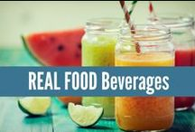 ☺ Beverages ☺ / REAL FOOD Beverages, made from real ingredients. No sugar or artificial anything! realfoodrn.com #realfood