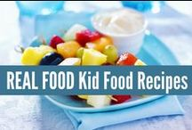 ❤ Real Kiddie Food ❤ / REAL FOOD Kid Food Recipes, made with real ingredients! Not something from a box. realfoodrn.com #realfood
