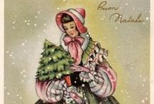 Christmas Postcards / This is my collection of vintage Christmas postcards ! All cards are posted on my blog www.missjane.it
