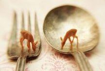 tiny treasure / tiny, super cute, and usually useless :) / by Jill Bot