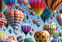 hot air balloons / by Barbara Costa