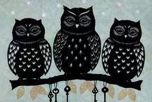 Owls / by Meagan Widders