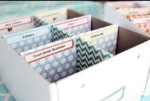 organize / storage and display / by Jill Bot