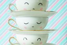 tea time / tea party everyday / by Jill Bot