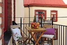 Balcony, Patio & Deck Ideas / All things to decorating an outdoor balcony and patio.