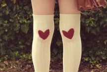 Socks/ Tights ♡ / by Micky Moon