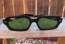 Vintage sunglasses and Vintage eyeglasses / make a spectacle of yourself!