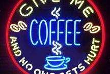 coffee! coffee! coffee! / All coffee, all the time!