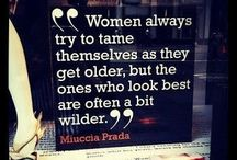 Great Ladies / Saucy, Sassy, Fun women of any age who really show their confidence and style and don't care what anyone else thinks about it all!