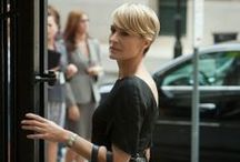 Claire Underwood / If you are as obsessed with Claire Underwood's fashion as we are, then you've come to the right place.  / by FashionFiles
