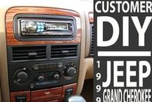 Crutchfield's Cool Car DIY Installs / Crutchfield has helped thousands of customers find the right audio gear for their cars -- and provided the info and tech support they needed to install it. Some of our DIY'ers proudly share their results. / by Crutchfield