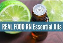 ~ Essential Oils ~ / Real Food RN Essential Oils. My favorite tips and tricks for using essential oils to support wellness in my home and for my family! www.realfoodrn.com/eo #essentialoils
