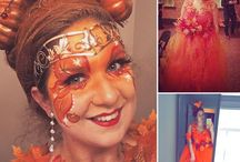 Halloween & Carnaval / Costumes and Face Paint