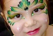Face Paint / Ideas for Face Paint for Halloween or Carnaval Costumes