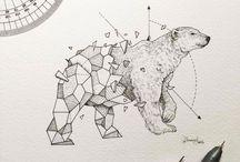 #geometrictattoo