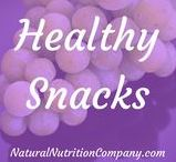 Healthy Snacks / Recipes for healthy, natural and clean eating snacks and drinks
