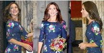 Deep winter outfits of Princess Mary & Kate & celebrities