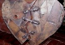 Something out of nothing / My progress in scrap metal art and other ideas