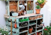 Garden Love / Outdoor spaces and ideas