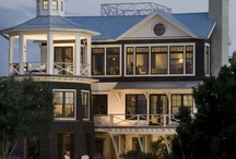 Lakehouse & Coastal Cottage Ideas / by Amy Moore