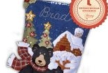 Bucilla Felt Christmas Stockings / MerryStockings is an online retailer of Bucilla Christmas stocking kits. This Pinterest board is all about Bucilla stocking kits. This board features pictures of customer's completed work and new stocking kits that are coming out soon. Have fun and browse until your hearts content! Happy Bucilla crafting.