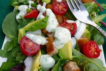 Salads / Salads of all kinds / by Ann Harvill