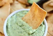 Dips~ Spreads ~ Relishes / for  Veggies ~  Fruit ~  Chips ~ Crackers or  Breads / by Ann Harvill