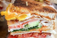 Sandwiches ~ Wraps  ~  Burgers / Hot and cold sandwiches / by Ann Harvill
