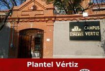 CAMPUS VÉRTIZ / Campus donde se imparten las Licenciaturas de Gastronomía, Turismo, Actuación y Licenciaturas en Fin de Semana.