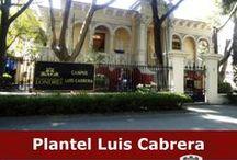 CAMPUS LUIS CABRERA / Campus donde se imparten las Licenciaturas de Psicología, Pedagogía, Informática y Tecnologías de la Información.
