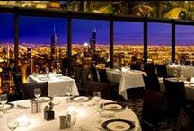 Magnificent Menus / Chicago's Magnificent Mile offers visitors a delectable spread of award- winning places to dine. It's a melting pot of global flavors and every foodie's fantasy. / by The Magnificent Mile