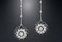 Diamond.....Earrings / by Lou Ann Brown