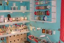Decor: Craft & Sewing Rooms / Organization tools & decoration ideas for the crafty. / by Angela Super