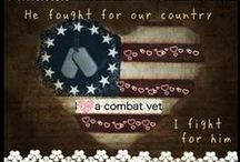 My Love, my Veteran / Take care of our Veterans!!! PTSD, anxiety, depression... Stop the stigma and love them through the pain