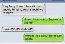 Funny....Texts / by Lou Ann Brown