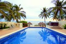 Punta Mita, Mexico / Sun, surfing, SUP,  beachside bars & restaurants, pool, beach, whale watching, fishing, snorkeling, shopping, relaxing, safe and friendly vacay in Punta de Mita, Mexico.  http://www.vrbo.com/230394