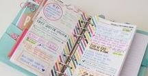 Planner ♥ Filofax / All the things I like for planning in my filofax!