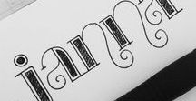 Crafts ♥ Lettering / I really want to learn this!