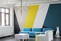 """ARTDESK aime les locaux """"Nouvelle tendance"""" / Nouveaux aménagements, nouveaux modes de travail, coworking, bureaux décloisonés, modes de travail participatifs, contributifs, décoration """"comme à la maison"""""""