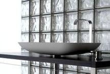 Bloques de Vidrios / Ladrillos de vidrios para la construcción o decoración