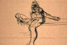 Francis Bacon drawings