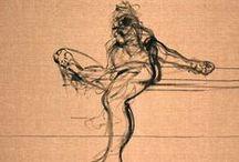 Francis Bacon drawings