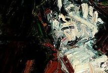 Frank Auerbach paintings