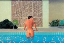 David Hockney paintings