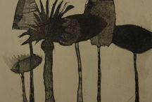 Roser Bru etchings