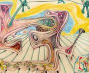 Roberto Matta drawings