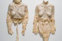 Kiki Smith sculptures